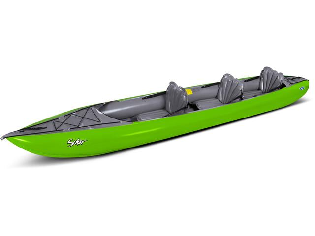 GUMOTEX Solar 3 Sedacky Kayak lime/grey